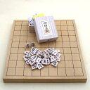 将棋セット 新かや1寸卓上接合将棋盤竹と新槙彫り駒のセット