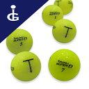 【送料無料】トブンダ スーパーディーカラー:フラッシュイエロー3ダースセットロストボール ゴルフボール【中古】