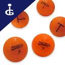 【送料無料】トブンダ スーパーディーカラー:フラッシュオレンジ3ダースセットロストボール ゴルフボール【中古】