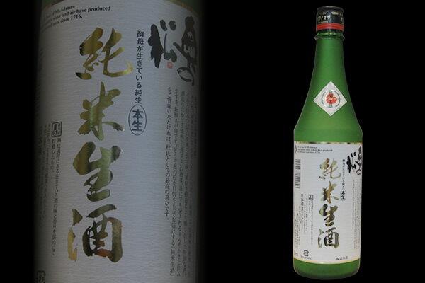 奥の松 純米生酒 720mlの商品画像