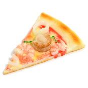 カットピザ・シーフードピザ食品サンプル