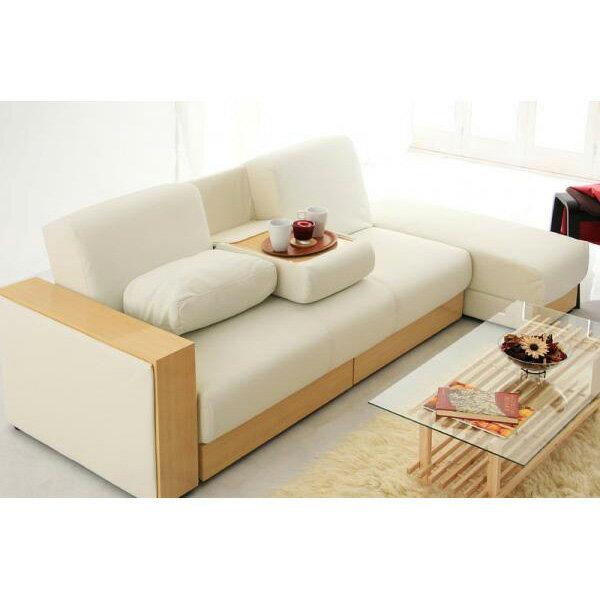 ソファーベッド 収納 一人暮らし シングル,ソファー 2人掛け 3人掛け カウチ カウチソファ,PVCソフトレザー仕様 ホワイト  通販
