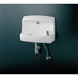 TOTO パブリック向け【LSL870AP】壁掛バック付手洗器(L870) オンライン Pトラップセット:あいあいショップさくら★★LSL870AP