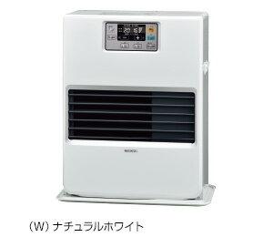 ###コロナ 暖房機器【FF-VG52SA(W)】FF式温風ヒーター ガス化式 ビルトインタイプ 別置きタンク式 木造14畳 コンクリート19畳