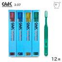 (メール便送料無料)G.V.K(GVK) 歯ブラシ 3.07 (12本)