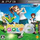 PS3 プレステ3 プレイステーション3 みんなのGOLF 6 ソフト ケースあり PlayStation3 SONY ソニー 中古 4948872730914 送料無料 【中古】