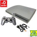 PS3 プレステ3 プレイステーション3 (160GB) サテン シルバー CECH-2500A SS 本体 すぐ遊べるセット コントローラー付き ソニー 中古 4948872412605 送料無料