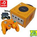 ゲームキューブ GC GAMECUBE 本体 オレンジ ニンテンドー 任天堂 Nintendo 【中古】 すぐに遊べるセット 4902370505764 送料無料