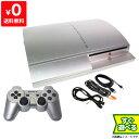 PS3 プレステ3 PLAYSTATION 3(40GB) サテン シルバー SONY ゲーム機 すぐ遊べるセット 4948872411745 【中古】