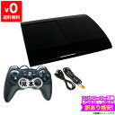 PS3 本体 すぐ遊べるセット 互換コントローラー1個付 CECH-4000B 250GB チャコール ブラック 【中古】