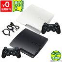 PS3 本体 純正 コントローラー 1個付き 選べるカラー CECH-3000A ブラック ホワイト HDMIケーブル付き