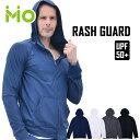 GronG(グロング) ラッシュガード メンズ 長袖 ジップアップ パーカー UVカット UPF50+ フード付き