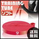 【エントリーでP10倍】 GronG フィットネスチューブ トレーニングチューブ エクササイズ レッド1.2cm