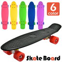 スケートボード コンプリート セット スケボー ミニクルーザー 6カラー...