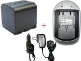 充電器セット ビクター(Victor) BN-VF714 互換バッテリー + 充電器(AC) 【あす楽対応】【送料無料】 02P29Jul16