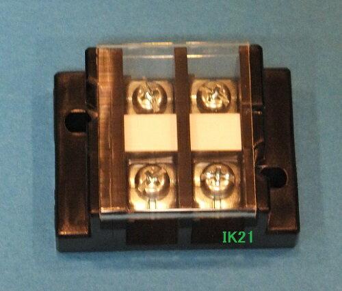 電気工事士技能試験対策品・半導体・工具・事務用品│第一種 電気工事士 技能試験用対応〓50A 2P 組端子台〓
