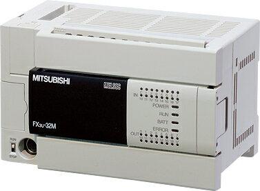 三菱電機 〓 マイクロシーケンサFX3Uシリーズ(基本ユニット) 〓 FX3U-32MR/ES 【三菱電機】★高速性、高機能と拡張性を考えるならFX3U♪♪★〓FX2N後継機種〓スムース