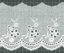 綿レース 60133 (巾約6.9cm)