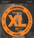 D'Addario Chromes Flat Wound ECB82