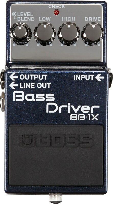 BOSS BB-1X [Bass Driver]【期間限定★送料無料】【全品ポイント6倍!さらにエントリーで合計ポイント10倍!10/26(水)9:59AMまで!】