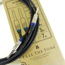 Free The Tone Instrument Cable CU-6550LNG (4m/SS)
