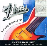 【エレキベース弦】F-bass Stainless Steel Exposed-Core Strings [5st]