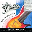 F-bass Stainless Steel Exposed-Core Strings [6st]