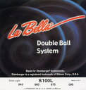 LaBella S100L Stainless Steel Round Wound Bass Strings