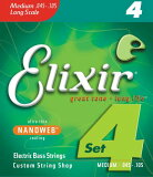 ELIXIR Bass Strings with ultra-thin NANOWEB Coating[ELIXIR Bass Strings with ultra-thin NANOWEB Coating 【13-Mar】 【16-Mar】 【18-Mar】 【22-Mar】 【23-Mar】]