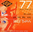 ROTO SOUND RS77LD Jazz Bass [Monel Flatwound Bass Strings]