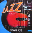 Thomastik-Infeld Electric Bass Strings JF344 [Nickel Flat Wound Roundcore Bass Strings for Long Scale 34 inch 4-strings]