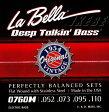 "LaBella 0760M ""JAMERSON FLAT WOUND STAINLESS STEEL STRING"""