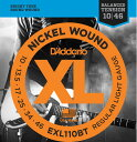 D'Addario EXL110BT Balanced Tension Nickel Wound Electric Guitar Strings (Regula...