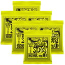 ERNIE BALL Nickel Wound Guitar Strings×6セット (#2221 REGULAR SLINKY)