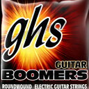 GHS Roundwound Nickel-Plated Steel Guitar Strings Boomers 8-String GBTNT-8 (10-80)