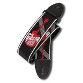 """Gibson Woven Style 2"""" Strap w/ Gibson Logo [ASGG-600]"""