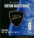 DINGWALL CUSTOM BASS STRINGS [STAINLESS 6ST] SET ROUND-WOUND .030-.127