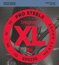 D'Addario ProSteels Round Wound EPS230
