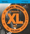 D'Addario XL Nickel Round Wound EXL160M
