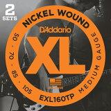 D#039;Addario XL Nickel Round Wound EXL160-TP[D''Addario XL Nickel Round Wound EXL160-TP]