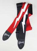 "Gibson Lightning Bolt Style 2"" Safety Strap [ASGSBL-10/ASGSBL-20]"