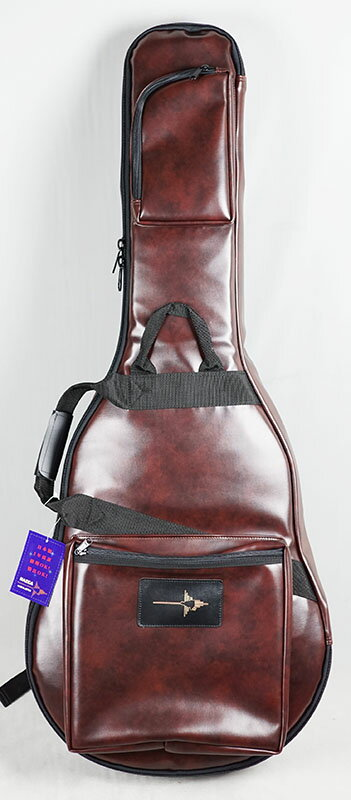 """NAZCA IKEBE ORDER Protect Case for Semi-Acoustic Guitar """"BROWN LEATHER"""" [セミアコ用] 【受注生産品】"""