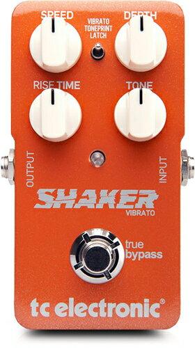 TC Electronic TonePrint Shaker [Vibrato] 【ビブラート】★今なら当店内全商品ポイント5倍です!