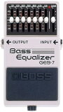"BOSS GEB-7 [Bass Equalizer] 【期間限定★】 【数量限定""技ストラップ・ラバー""プレゼント!※色は選べません】"