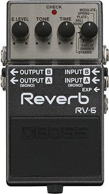 BOSS RV-6 [Digital Reverb] 【HxIv20_04】 【期間限定★送料無料】 【ikbp5】 【IKEBE×BOSSオリジナルデザイン缶クージープレゼント】