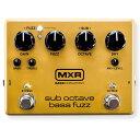 MXR M287 [sub octave bass fuzz] 【8月下旬入荷予定】