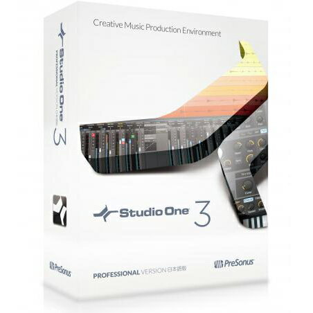 ●Presonus Studio One 3 Professional日本語版(Download edition) 【数量限定価格】