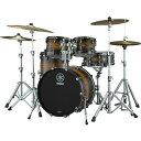 YAMAHA LIVE CUSTOM HYBRID OAK 4pc Drum Set [LHB2016 + LHP4F3 Kit]