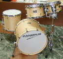"CANOPUS ""R.F.M."" Studio Kit Plus [20BD, 14FT, 12 &10TT / Natural Oil Finish] 【ダブ..."