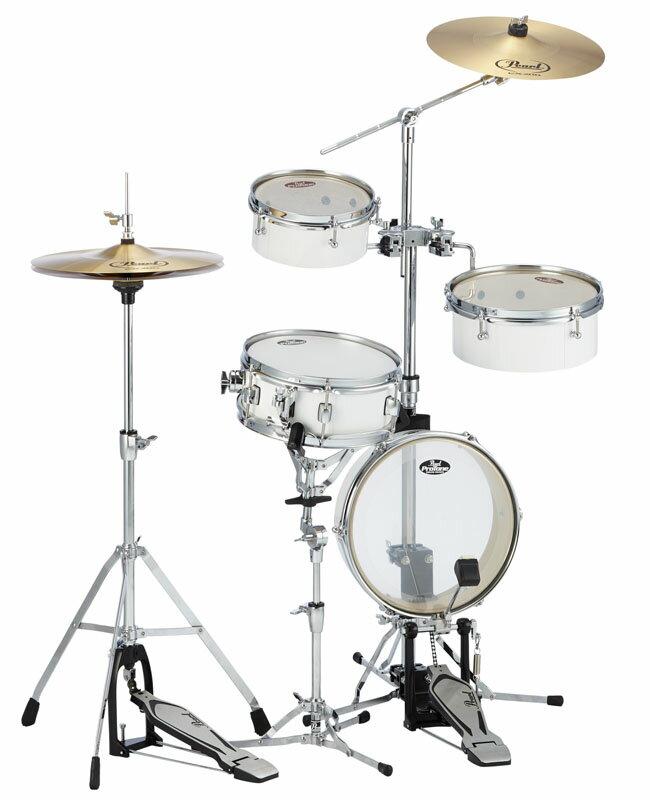 Pearl RT-5124N (#33/ピュアホワイト) [Rhythm Traveler Light] 【発売記念!ドラムスローン&スティック サービス!】 【11月下旬入荷予定】